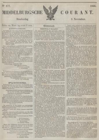 Middelburgsche Courant 1866-11-08