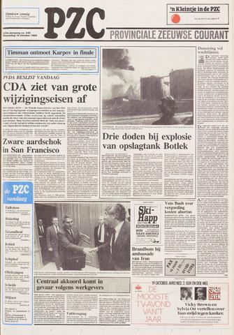 Provinciale Zeeuwse Courant 1989-10-18
