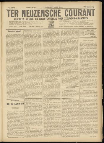 Ter Neuzensche Courant. Algemeen Nieuws- en Advertentieblad voor Zeeuwsch-Vlaanderen / Neuzensche Courant ... (idem) / (Algemeen) nieuws en advertentieblad voor Zeeuwsch-Vlaanderen 1934-07-27