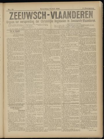 Luctor et Emergo. Antirevolutionair nieuws- en advertentieblad voor Zeeland / Zeeuwsch-Vlaanderen. Orgaan ter verspreiding van de christelijke beginselen in Zeeuwsch-Vlaanderen 1918-07-06