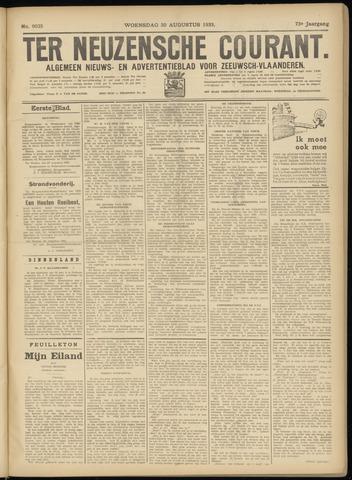 Ter Neuzensche Courant. Algemeen Nieuws- en Advertentieblad voor Zeeuwsch-Vlaanderen / Neuzensche Courant ... (idem) / (Algemeen) nieuws en advertentieblad voor Zeeuwsch-Vlaanderen 1933-08-30