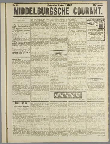 Middelburgsche Courant 1927-04-09