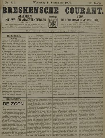 Breskensche Courant 1904-09-14
