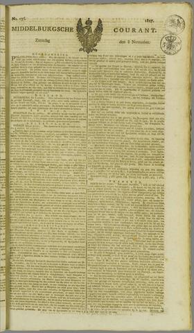 Middelburgsche Courant 1817-11-08