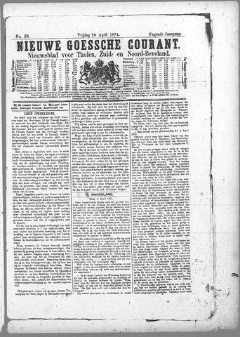 Nieuwe Goessche Courant 1874-04-10