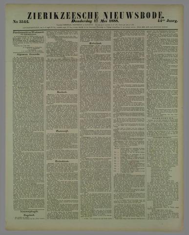 Zierikzeesche Nieuwsbode 1888-05-17