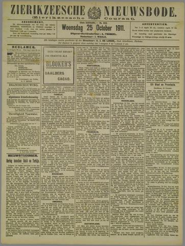 Zierikzeesche Nieuwsbode 1911-10-25