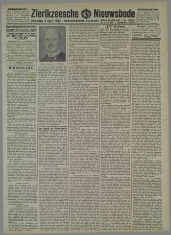 Zierikzeesche Nieuwsbode 1932-04-04