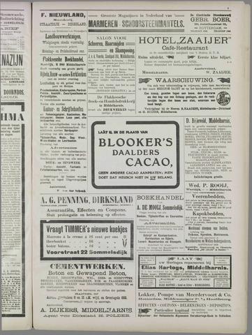 """""""Vooruit!""""Officieel Nieuws- en Advertentieblad voor Overflakkee en Goedereede 1911-09-30"""