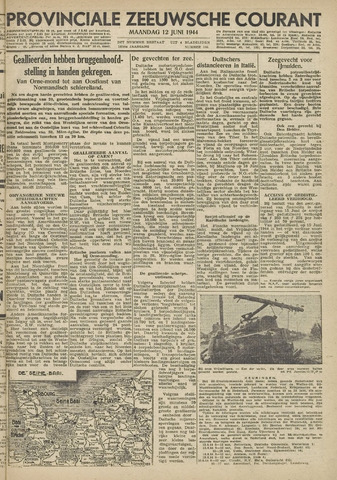 Provinciale Zeeuwse Courant 1944-06-12