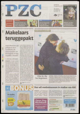 Provinciale Zeeuwse Courant 2013-09-14