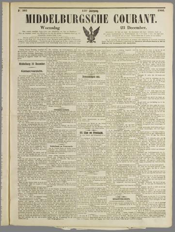 Middelburgsche Courant 1908-12-23