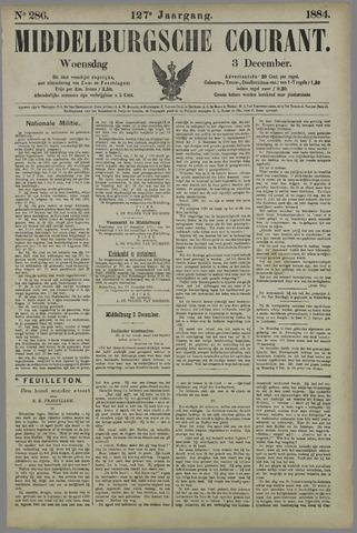 Middelburgsche Courant 1884-12-03