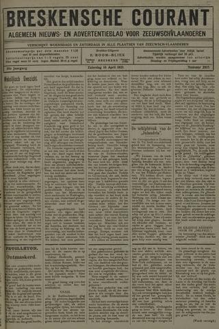 Breskensche Courant 1921-04-16