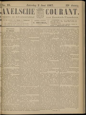Axelsche Courant 1917-06-02
