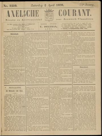 Axelsche Courant 1898-04-02