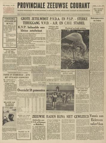 Provinciale Zeeuwse Courant 1962-06-01