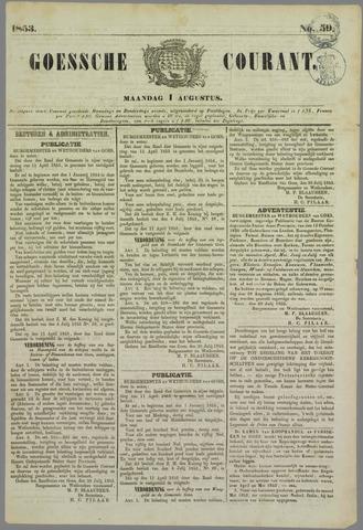 Goessche Courant 1853-08-01