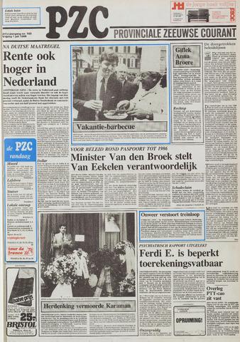 Provinciale Zeeuwse Courant 1988-07-01