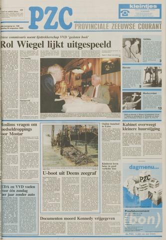 Provinciale Zeeuwse Courant 1993-08-24
