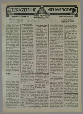 Zierikzeesche Nieuwsbode 1942-03-18