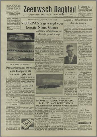 Zeeuwsch Dagblad 1957-11-09