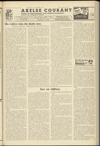 Axelsche Courant 1958-01-25