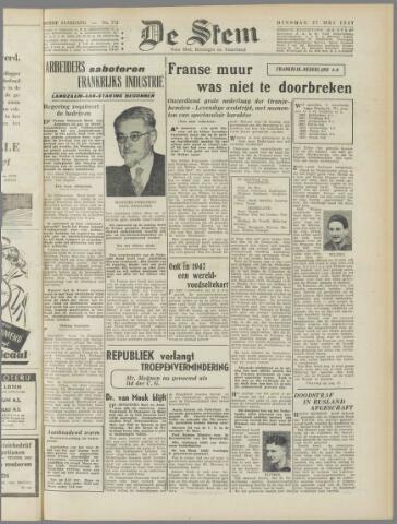 de Stem 1947-05-27