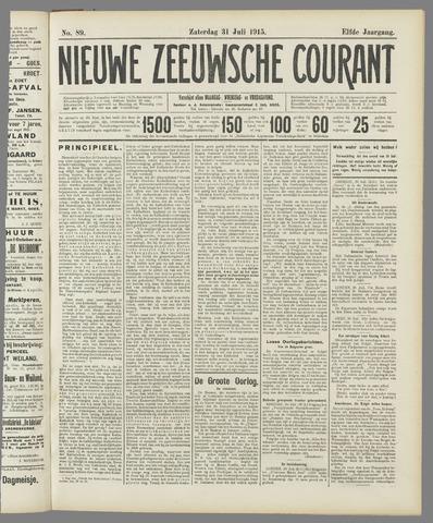 Nieuwe Zeeuwsche Courant 1915-07-31