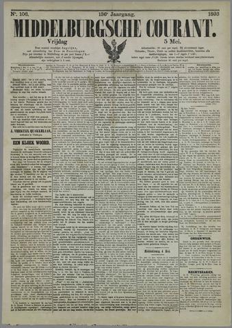 Middelburgsche Courant 1893-05-05