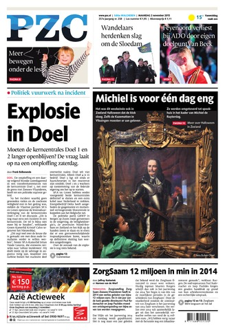 Provinciale Zeeuwse Courant 2015-11-02