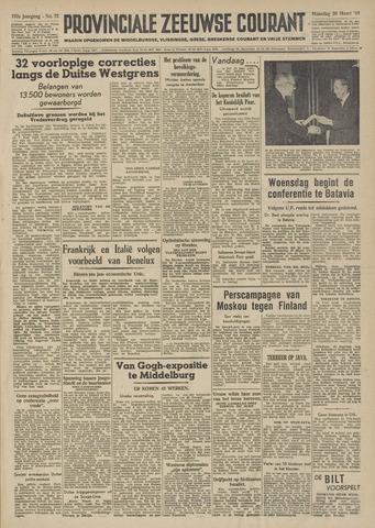 Provinciale Zeeuwse Courant 1949-03-28