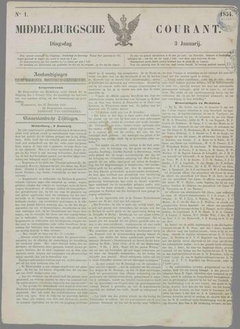 Middelburgsche Courant 1854