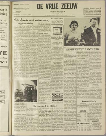de Vrije Zeeuw 1961-01-14
