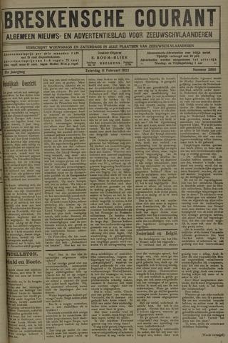Breskensche Courant 1922-02-11