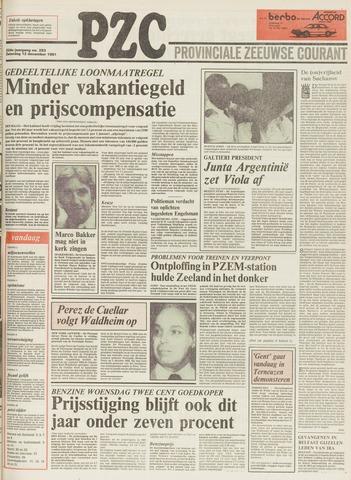 Provinciale Zeeuwse Courant 1981-12-12