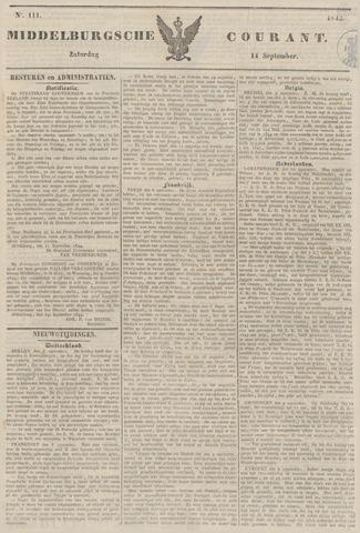 Middelburgsche Courant 1844-09-14