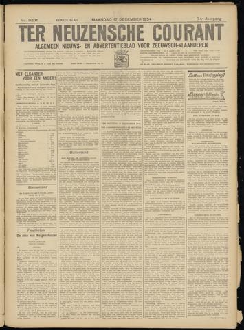 Ter Neuzensche Courant. Algemeen Nieuws- en Advertentieblad voor Zeeuwsch-Vlaanderen / Neuzensche Courant ... (idem) / (Algemeen) nieuws en advertentieblad voor Zeeuwsch-Vlaanderen 1934-12-17