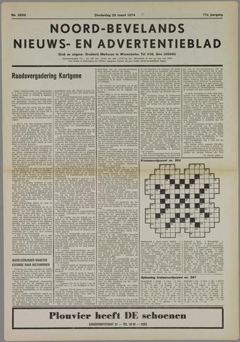 Noord-Bevelands Nieuws- en advertentieblad 1974-03-28