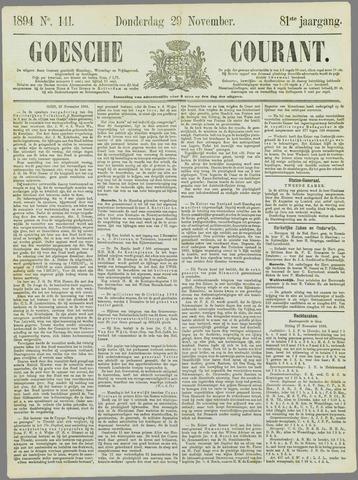 Goessche Courant 1894-11-29