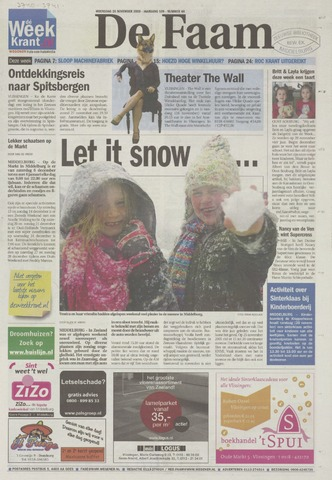 de Faam en de Faam/de Vlissinger 2008-11-26
