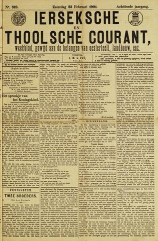 Ierseksche en Thoolsche Courant 1901-02-23