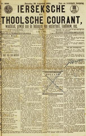 Ierseksche en Thoolsche Courant 1905-08-26