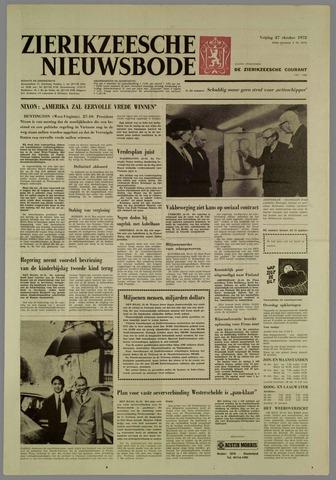 Zierikzeesche Nieuwsbode 1972-10-27