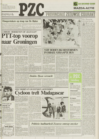 Provinciale Zeeuwse Courant 1984-04-14