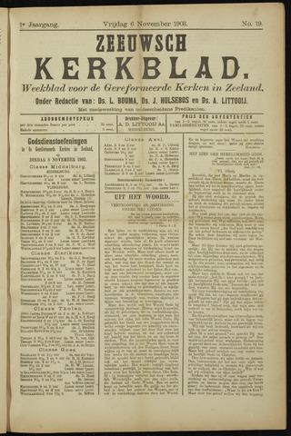 Zeeuwsche kerkbode, weekblad gewijd aan de belangen der gereformeerde kerken/ Zeeuwsch kerkblad 1903-11-06