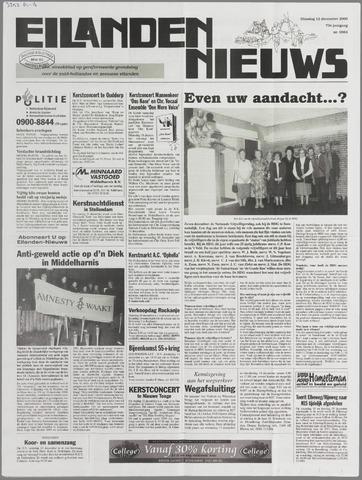 Eilanden-nieuws. Christelijk streekblad op gereformeerde grondslag 2000-12-12