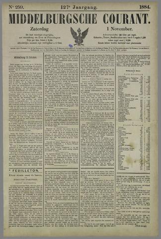 Middelburgsche Courant 1884-11-01