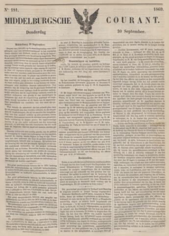 Middelburgsche Courant 1869-09-30