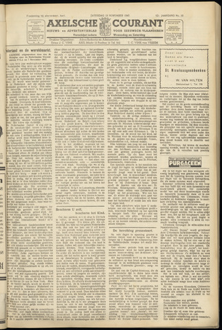 Axelsche Courant 1947-11-15
